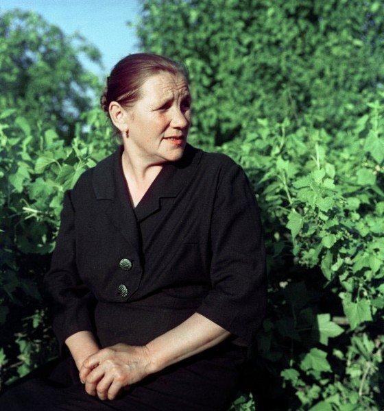 Мама Юрия Гагарина Анна Тимофеевна СССР, гагарин, история, факты