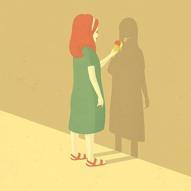 13. Невидимый друг Стефан Шмитц, иллюстрация, мир, общество, рисунок, художник