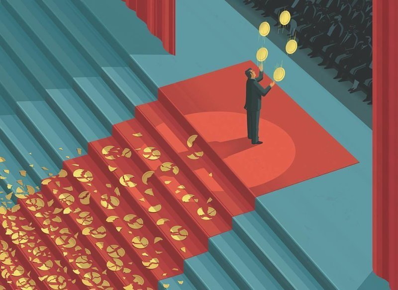 12. Цена успеха Стефан Шмитц, иллюстрация, мир, общество, рисунок, художник