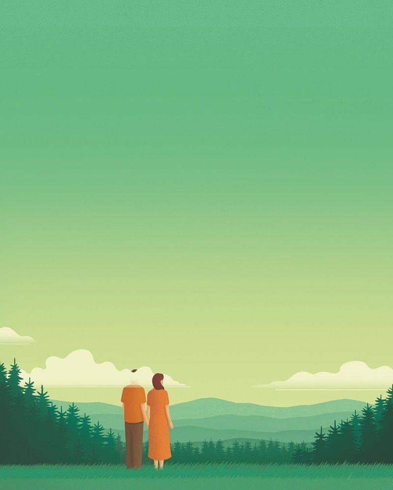 8. Отношения Стефан Шмитц, иллюстрация, мир, общество, рисунок, художник
