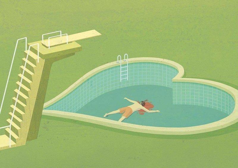 16. Убийственная любовь Стефан Шмитц, иллюстрация, мир, общество, рисунок, художник