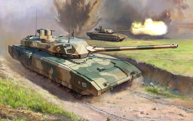 В Минобороны рассказали о замене для «Арматы» #Армата, #Т-14, #Т-90М, #танк четвертого поколения, #танки России, #танковые войска