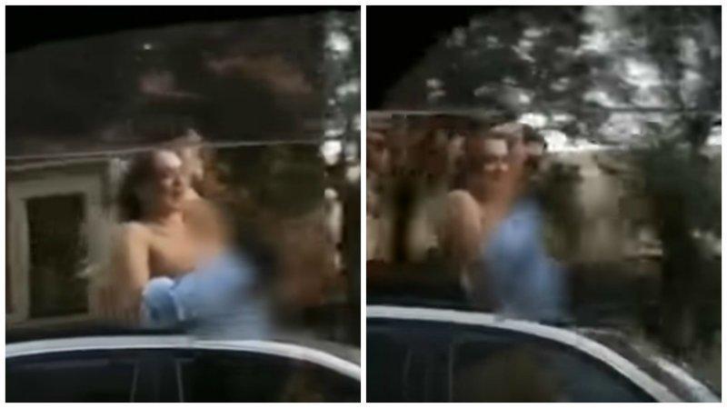 Во Владивостоке девушки своеобразно поздравили мужчин с Днём ВМФ, оголив грудь ynews, ВМФ  РФ, видео, владивосток, грудь, девушки, интересное