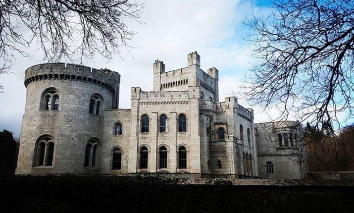 Замок Госфорд, расположенный в Северной Ирландии, был построен в середине 19 века. Внутри него - более 15 спален и десять ванных комнат. ynews, жилье, замок, игра престолов, недвижимость, новости, продажа дома, события