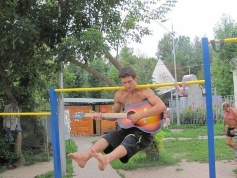 9. Сразу видно: человек с суперспособностями! Веселые, Это Россия детка, отдых, русские, рыбалка, фото, юмор