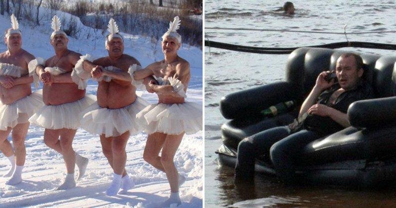 15 фото о том, как отдыхают русские Веселые, Это Россия детка, отдых, русские, рыбалка, фото, юмор