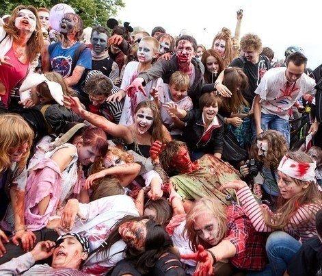 Парада зомби в Перми не будет из-за критики со стороны церкви ynews, критика, новости, отмена, парад зомби, рпц
