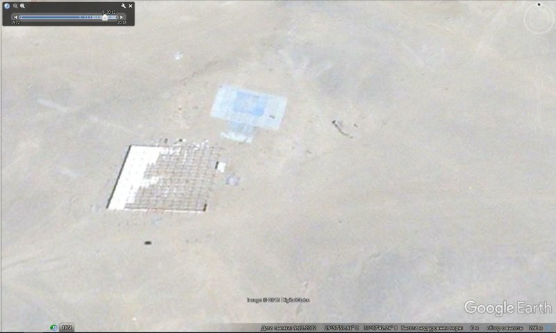 сентябрь 2012 GoogleEarth, гиза, египет, закопали, объект, сокрытие, тайна