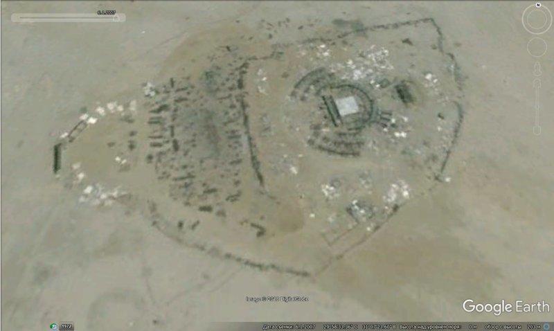 3 года не было четких снимков этого района, 1 июня 2007 GoogleEarth, гиза, египет, закопали, объект, сокрытие, тайна
