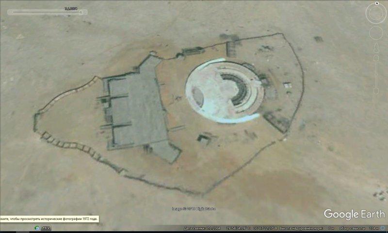 1, июля, 2004 GoogleEarth, гиза, египет, закопали, объект, сокрытие, тайна