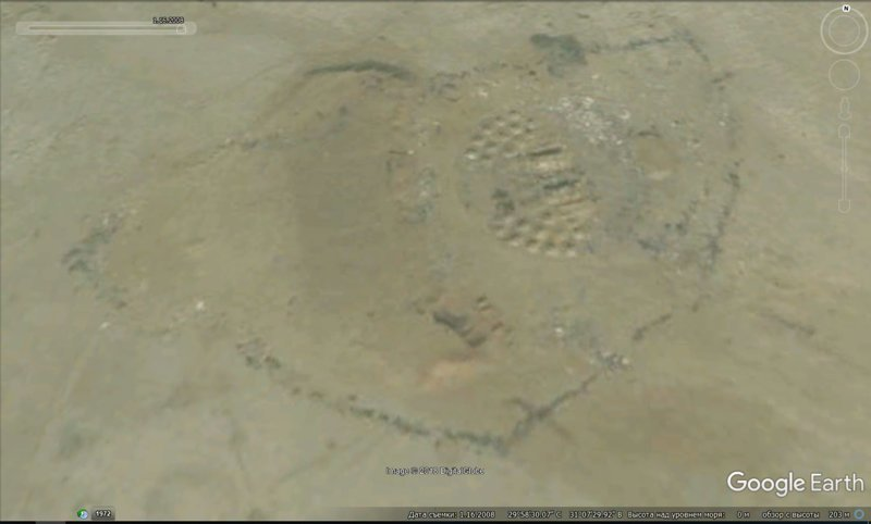 16 января 2008 GoogleEarth, гиза, египет, закопали, объект, сокрытие, тайна