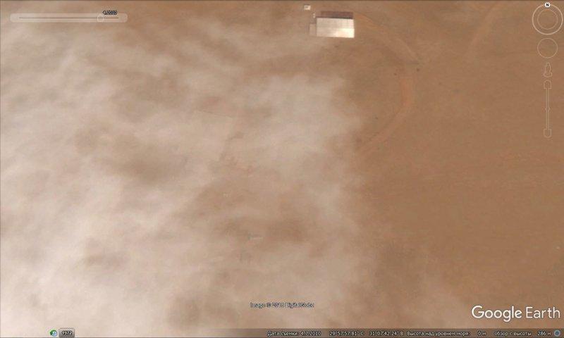 апрель 2010 GoogleEarth, гиза, египет, закопали, объект, сокрытие, тайна