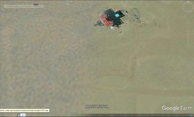 июль 2007 GoogleEarth, гиза, египет, закопали, объект, сокрытие, тайна
