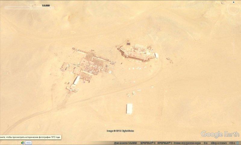 На радость мне, спутник стал пролетать там чаще. 2 июля 2009 GoogleEarth, гиза, египет, закопали, объект, сокрытие, тайна