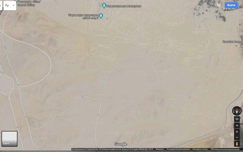 Гугл карты GoogleEarth, гиза, египет, закопали, объект, сокрытие, тайна