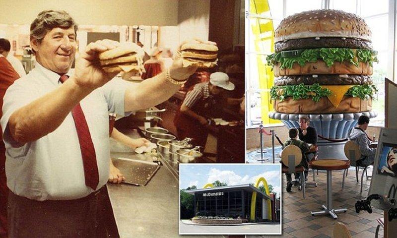 Изобретатель Биг Мака не получил за идею ни цента Изобретатель, Майкл Джеймс Деллигатти, биг-мак, бургер, история, история успеха, кулинарные изобретения, макдональдс