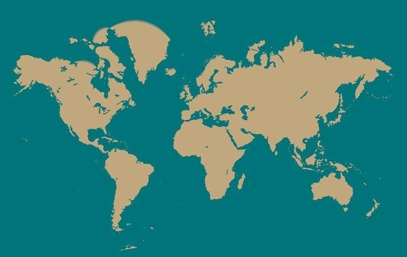 1832 год интересное, как менялась, карта, путешествие, тогда и сейчас