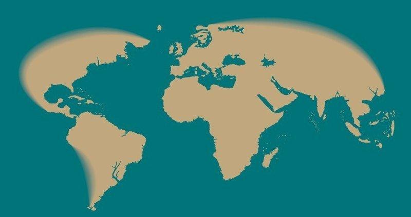 1529 год интересное, как менялась, карта, путешествие, тогда и сейчас