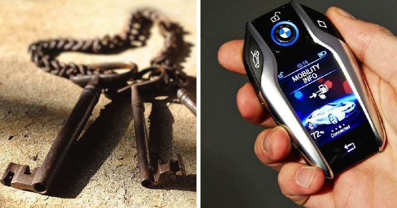 Ключи в мире, вещи, изменились, прошлое, тогда и сейчас