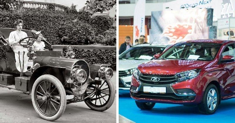 Автомобиль в мире, вещи, изменились, прошлое, тогда и сейчас