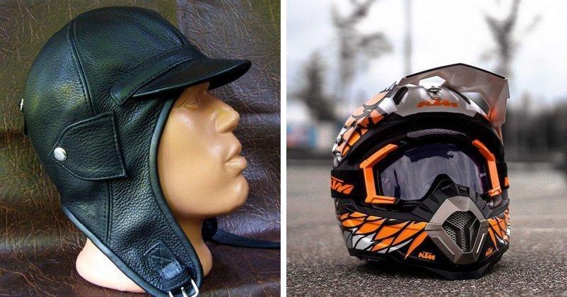 Шлем мотогонщика в мире, вещи, изменились, прошлое, тогда и сейчас