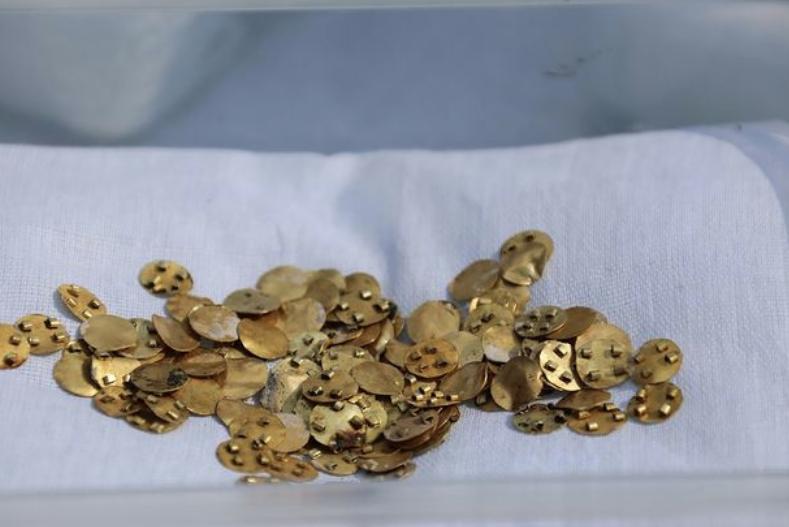 В Казахстане обнаружены древнейшие сокровища сакской эпохи ynews, археология, драгоценности, интересное, казахстан, сокровища, фото