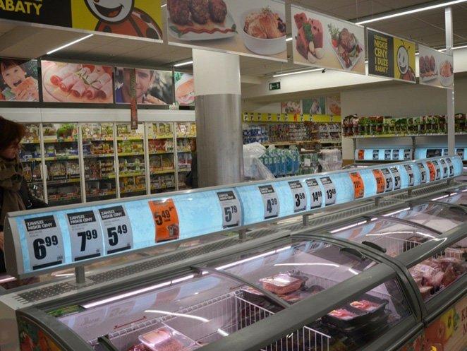 1. Яркие ценники  полезно знать, советы, супермаркеты, уловки, фото, хитрости