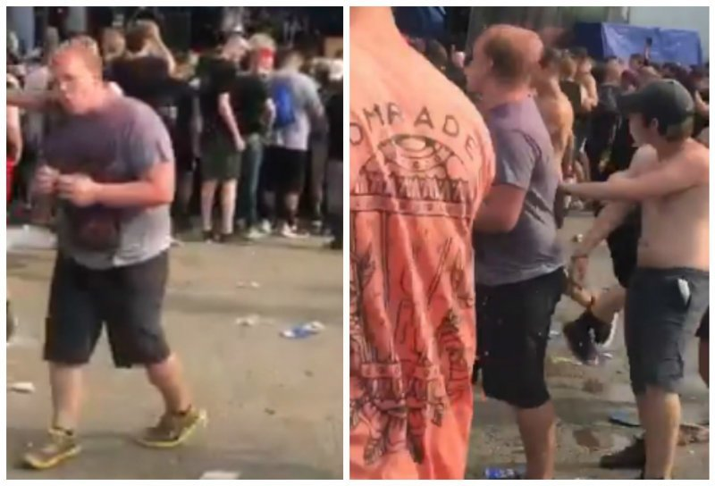 Парень попытался поесть бобов во время слема и стал знаменитым ynews, Слем, бобы, еда, интересное, концерт, юмор