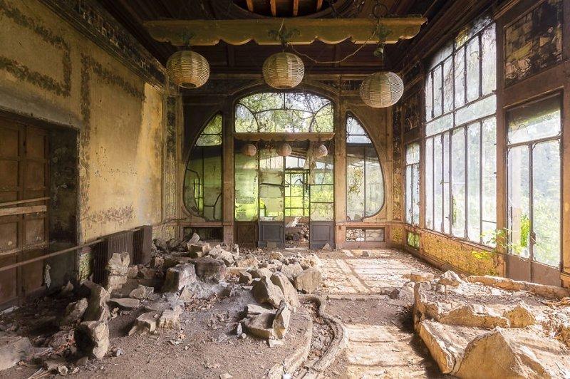 11. Раньше здесь была оранжерея брошенные жилища, дворцы, заброшенные, заброшенные дома, заброшенные здания, старина старый дом, старые здания