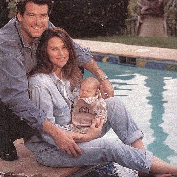 У супругов есть два сына - Дилан Томас и Пэрис Бекетт Броснан, Любовь, актер, годовщина, звезды, знаменитости, пара, семья