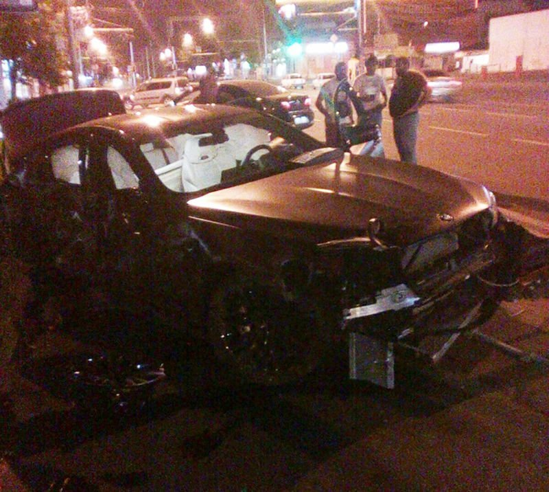 Федор Смолов разбил уникальный BMW bmw, ynews, дтп, новости, федор смолов, футболист