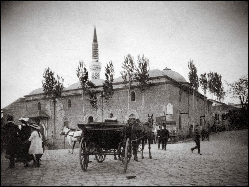 Джумая джамия, Пловдив, Болгария ХХ век, балканы, болгария, история, начало века, фотография