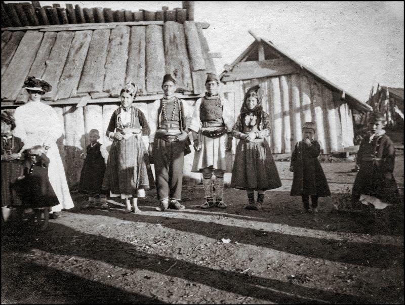 Где-то на Балканах, возможно Албания ХХ век, балканы, болгария, история, начало века, фотография