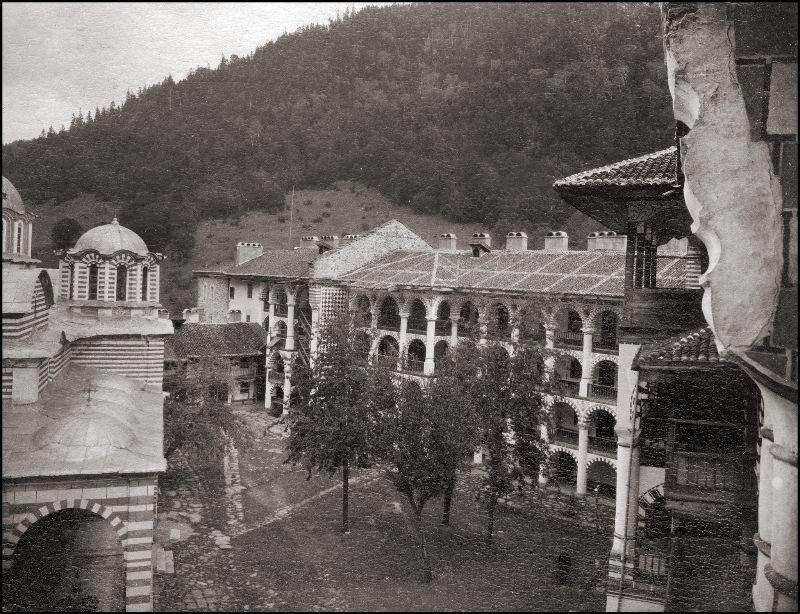 Рильский монастырь, Болгария ХХ век, балканы, болгария, история, начало века, фотография