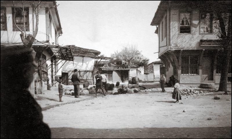 Деревенская улица ХХ век, балканы, болгария, история, начало века, фотография