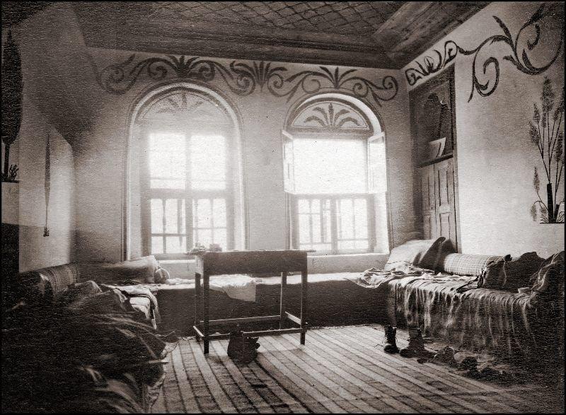 Комната в Рильском монастыре ХХ век, балканы, болгария, история, начало века, фотография