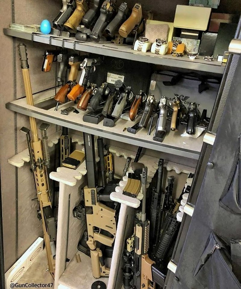 Американцы хвастаются своими коллекциями оружия америка, американцы, коллекция оружия, оружие
