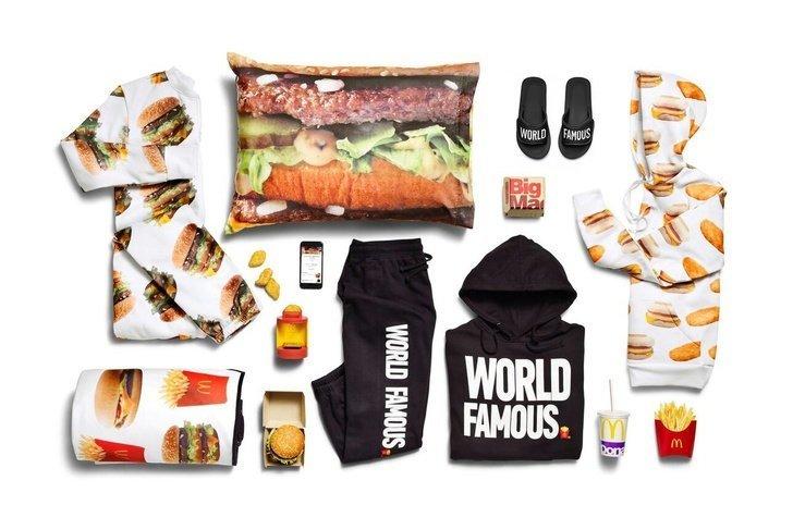 Вещи от McDonald's. I'm loving it в мире, вещи, дизайн, дизайнер, идея, креатив, прикол