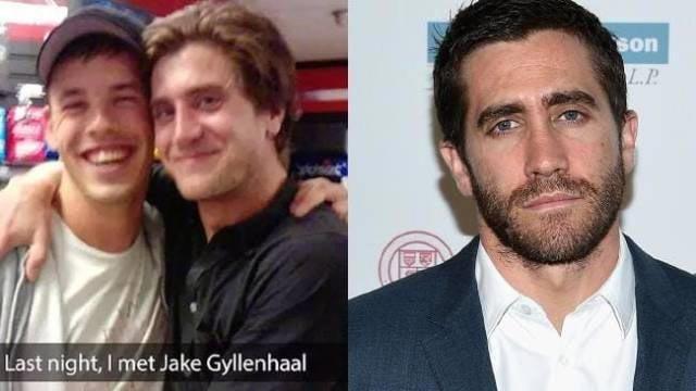 """""""Прошлой ночью я познакомился с Джейком Джилленхолом"""" — Нет в мире, знаменитости, люди, обман, похожи, спутали"""