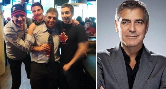 Ни разу не Джордж Клуни в мире, знаменитости, люди, обман, похожи, спутали