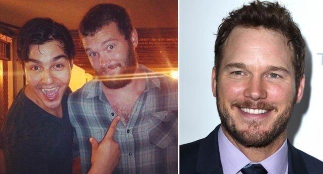 Этот парень напился и решил, что он встретил Криса Прэтта в мире, знаменитости, люди, обман, похожи, спутали