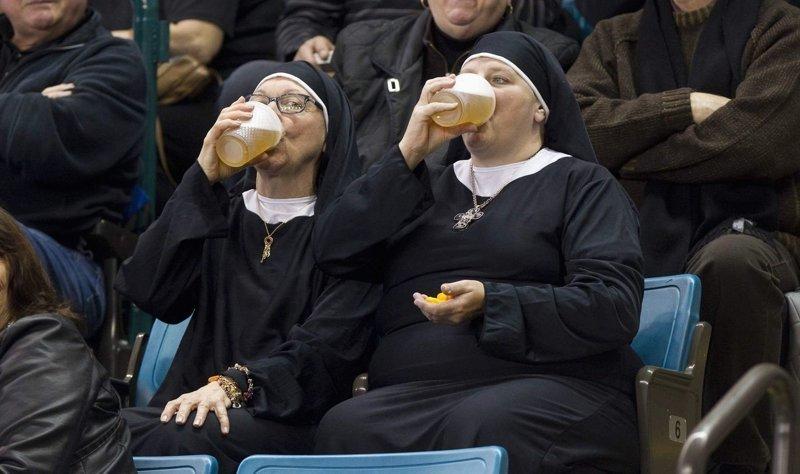 В общем, весело у них там! Монастырь, Монахини, интересное, отдых, служители бога, фото, юмор