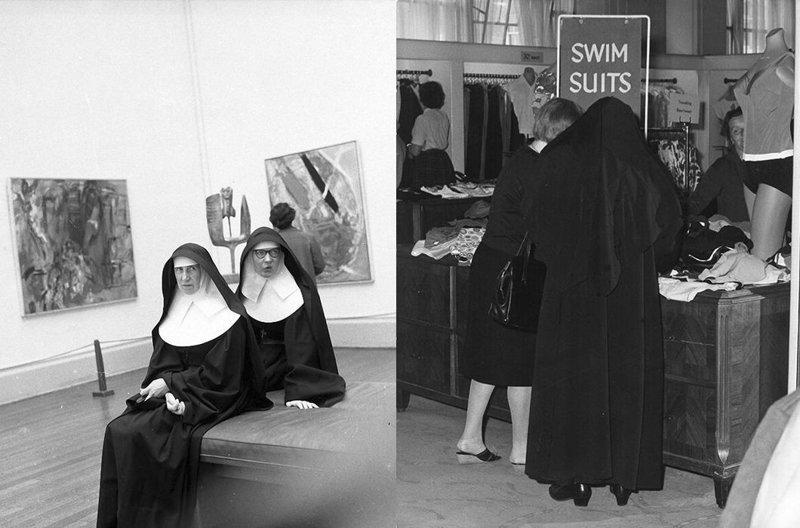 Они даже ходят на распродажи! Монастырь, Монахини, интересное, отдых, служители бога, фото, юмор