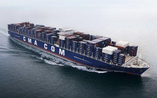 Контейнеровозы коммерческий флот, море, суда, торговый флот