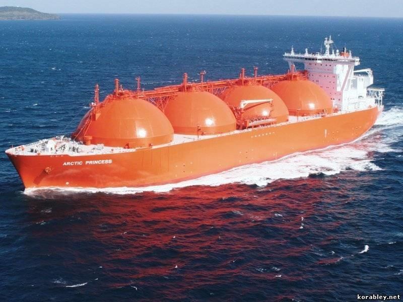 Газовозы (Gas carriers) коммерческий флот, море, суда, торговый флот