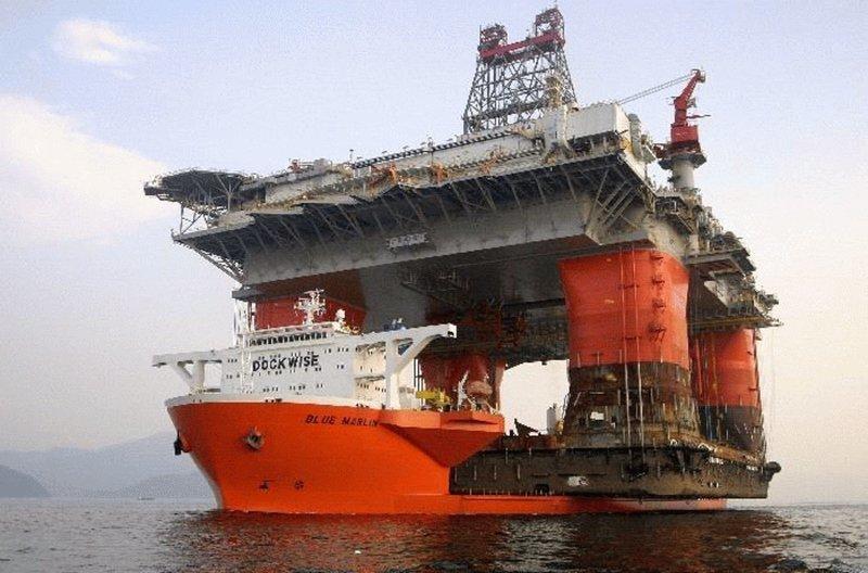 Судно полупогружного типа FLO/FLO (Float-on/Float-off) коммерческий флот, море, суда, торговый флот