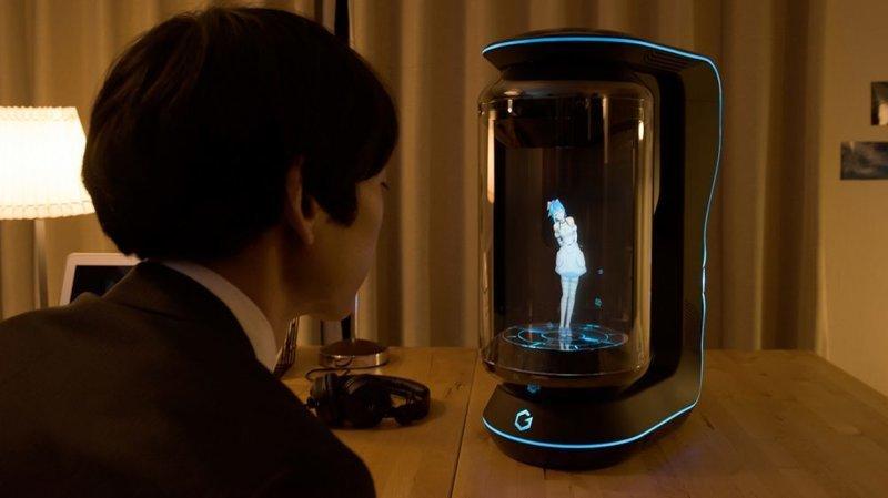 Японцы создали голографическую девушку-помощника, которая спасёт вас от одиночества ynews, будущее, девушки, интересное, помощник, фото, япония