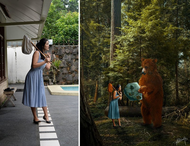 20 волшебных кадров до и после обработки digital art, было и стало, до и после, обработка изображений, обработка фото, фотошоп, фотошоп мастер, цифровое искусство