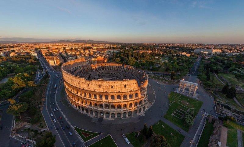 2. Когда речь заходит о Колизее, сразу же вспоминается Рим  интересно, планета земля, природа, удивительное рядом, факты о земле, факты о нашей планете