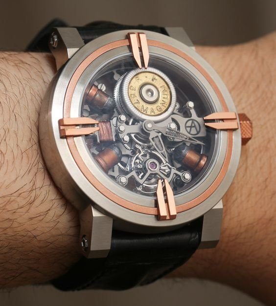 Брутальные часы в стиле стимпанк В стиле стимпанк, красиво, наручные часы, стимпанк, украшения, фото, часы